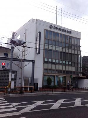 京都中央信用金庫 御陵支店 約610m