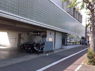 京都中央信用金庫大将軍支店 徒歩約4分(約286m)